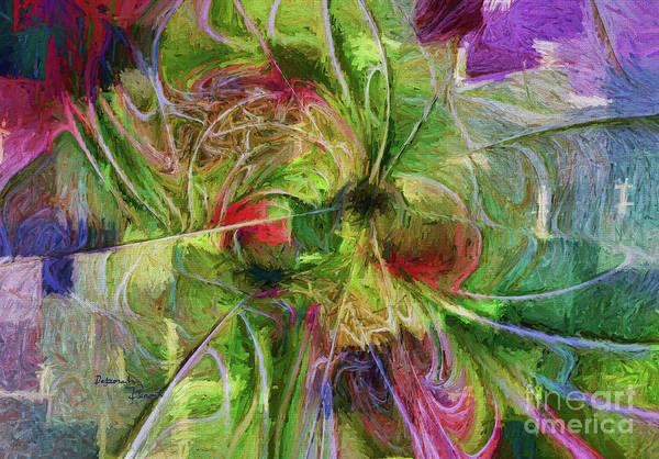 Digital Art - Abstract Of Color by Deborah Benoit