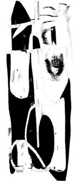 Digital Art - Abstract Ohne Titel 1a  by Doug Duffey