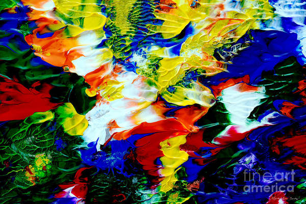 Painting - Abstract Ol2416 by Mas Art Studio