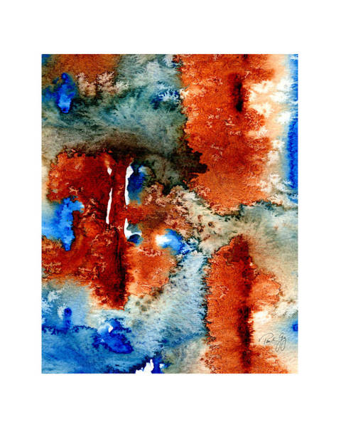 Mixed Media - Abstract One 003 by Paul Gaj
