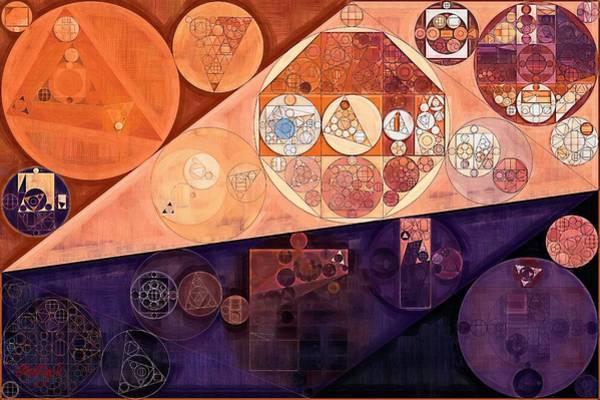 Feelings Digital Art - Abstract Painting - Blackberry by Vitaliy Gladkiy