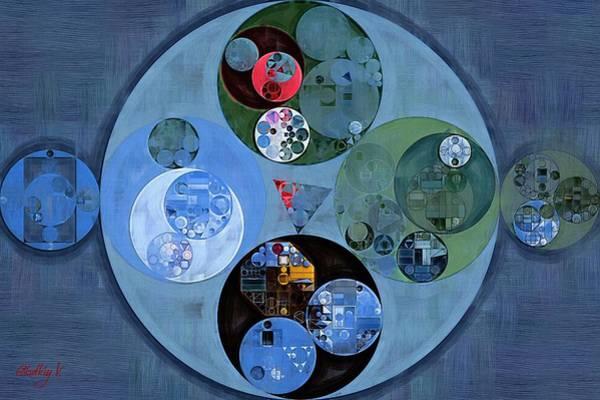 Abstraction Digital Art - Abstract Painting - Chambray by Vitaliy Gladkiy