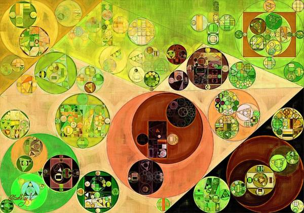 Gradient Digital Art - Abstract Painting - Chenin by Vitaliy Gladkiy