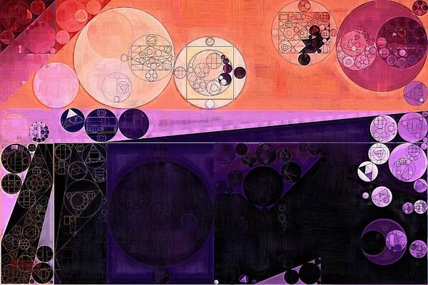 Fuzzy Wall Art - Digital Art - Abstract Painting - Fuzzy Wuzzy by Vitaliy Gladkiy