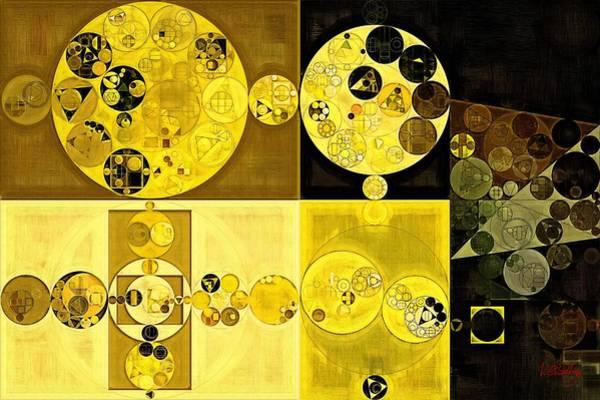 Abstract Painting - Hacienda Art Print