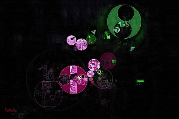 Effects Digital Art - Abstract Painting - Heavy Metal by Vitaliy Gladkiy