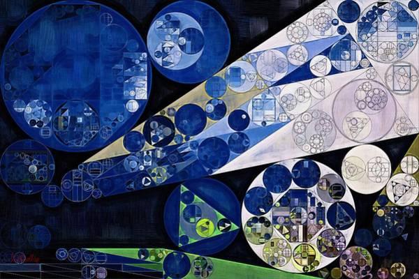 Effects Digital Art - Abstract Painting - Lavender Gray by Vitaliy Gladkiy