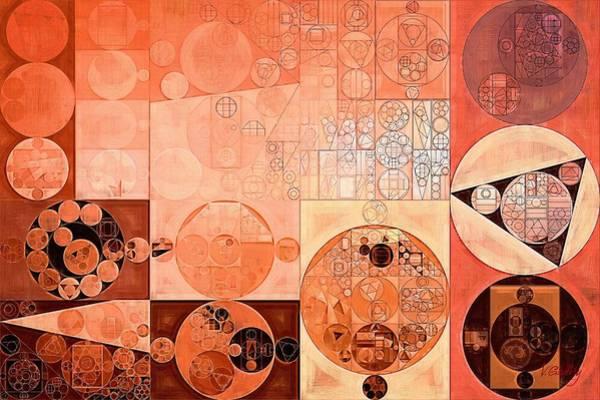 Wall Art - Digital Art - Abstract Painting - Mandys Pink by Vitaliy Gladkiy