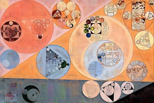 Dove Digital Art - Abstract Painting - Manhattan by Vitaliy Gladkiy