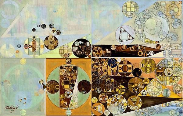 Feelings Digital Art - Abstract Painting - Marigold by Vitaliy Gladkiy
