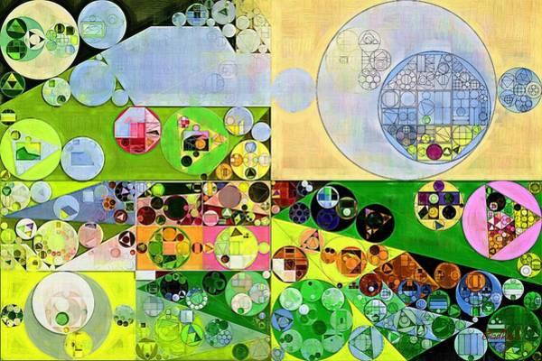 Gradient Digital Art - Abstract Painting - Orinoco by Vitaliy Gladkiy