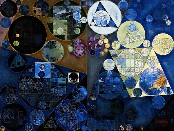 Wall Art - Digital Art - Abstract Painting - Port Gore by Vitaliy Gladkiy