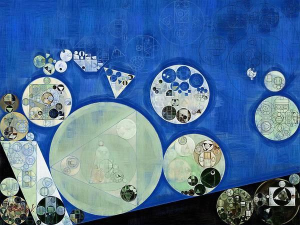Wall Art - Digital Art - Abstract Painting - Rainee by Vitaliy Gladkiy