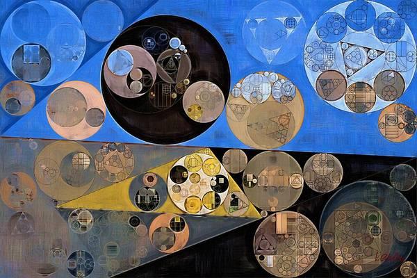 Sand Dunes Digital Art - Abstract Painting - Sand Dune by Vitaliy Gladkiy