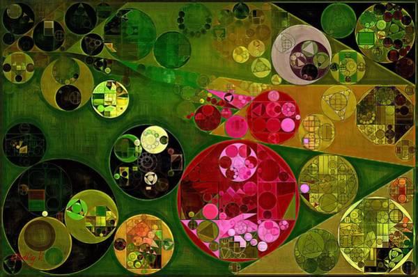 Effects Digital Art - Abstract Painting - Twine by Vitaliy Gladkiy