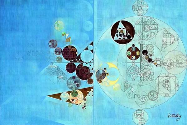 Wall Art - Digital Art - Abstract Painting - Viking by Vitaliy Gladkiy