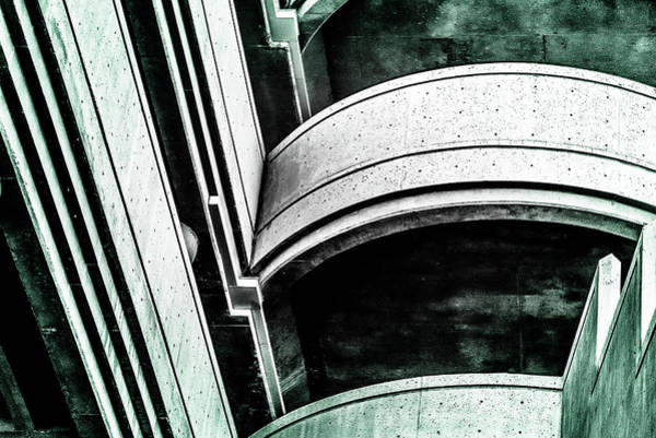 Photograph - Abstract Parking by Onyonet  Photo Studios