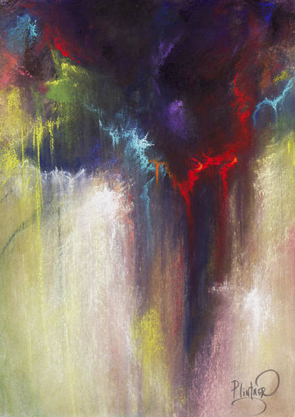 Wall Art - Pastel - Abstract Pastel 2 by Patricia Lintner