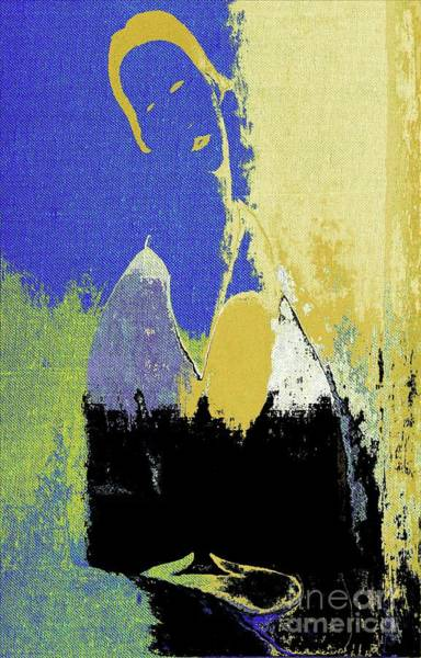 Wall Art - Digital Art - Abstract Portrait - 87t1dc11 by Variance Collections