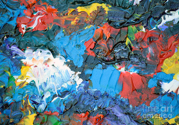 Painting - Abstract Q1112a  by Mas Art Studio