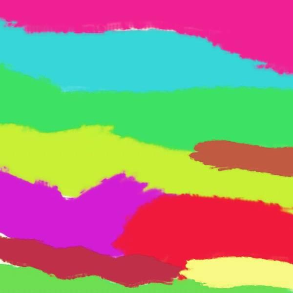Wall Art - Painting - Abstract Rainbow Art By Adam Asar 2 by Adam Asar