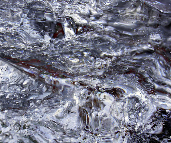 Photograph - Abstract Rapids 5 by Sami Tiainen