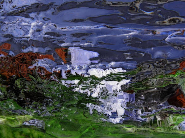 Photograph - Abstract Rapids by Sami Tiainen