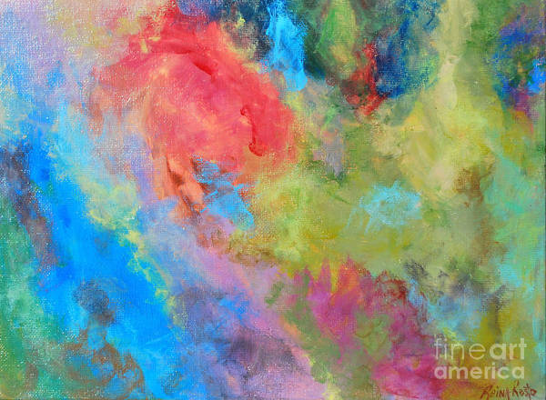 Painting - Abstract by Reina Resto