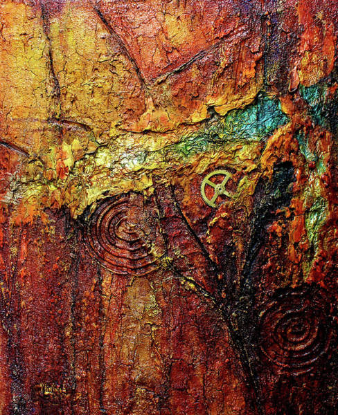 Painting - Abstract Rock 2 by Patricia Lintner