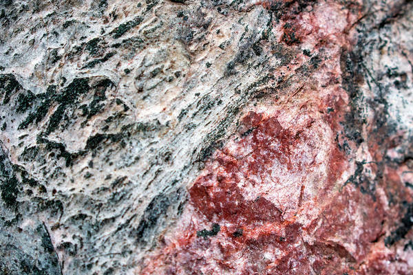 Wall Art - Photograph - Abstract Rock Marbled Marvel by Christina Rollo