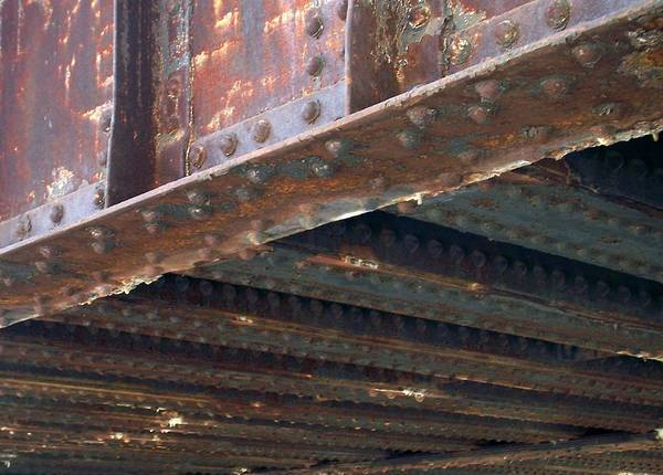 Photograph - Abstract Rust 4 by Anita Burgermeister