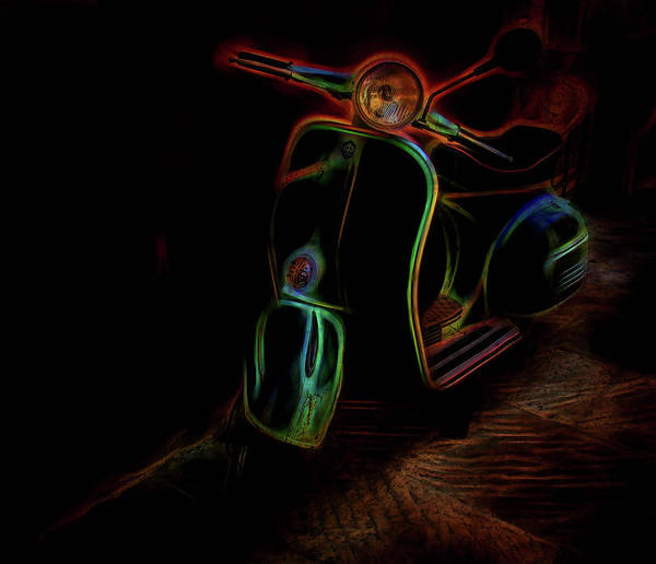 Wall Art - Photograph - Abstract Scooter by Elijah Knight