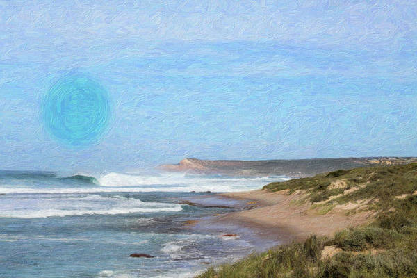 Painting - Abstract Seascape by Adam Asar