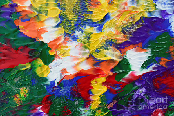 Painting - Abstract Series A1015al by Mas Art Studio
