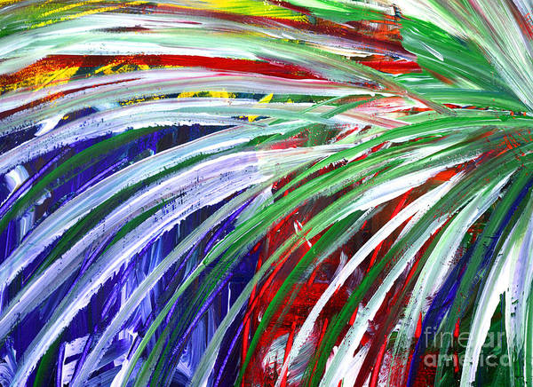 Painting - Abstract Series C1015bl by Mas Art Studio