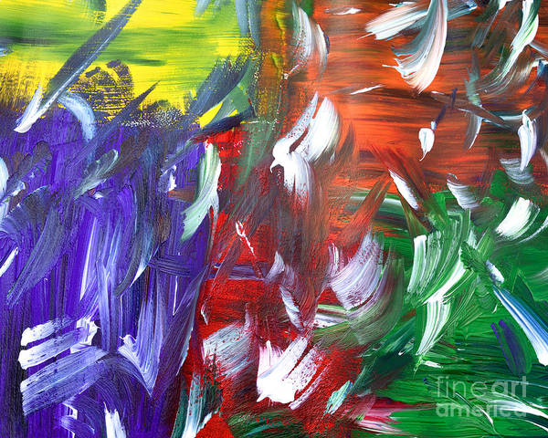 Painting - Abstract Series E1015al by Mas Art Studio