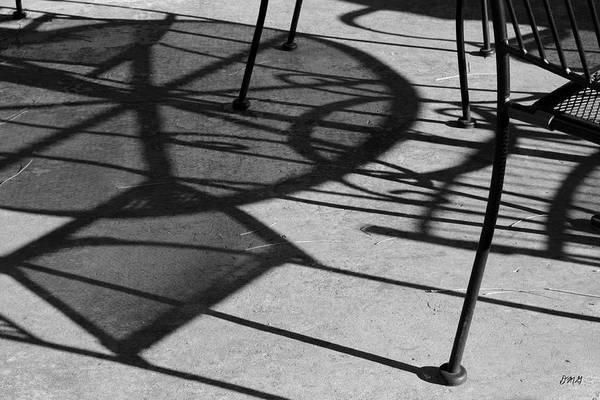 Photograph - Abstract Shadows by David Gordon