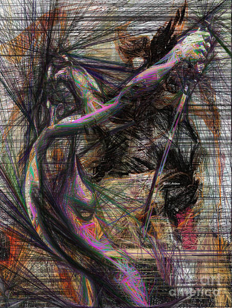 Digital Art - Abstract Sketch 1334 by Rafael Salazar