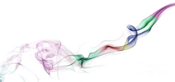 Wall Art - Photograph - Abstract Smoke by Setsiri Silapasuwanchai
