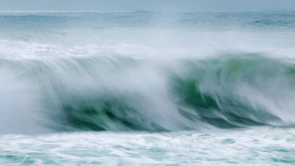 Wall Art - Photograph - Abstract Soft Waves by Dapixara Art