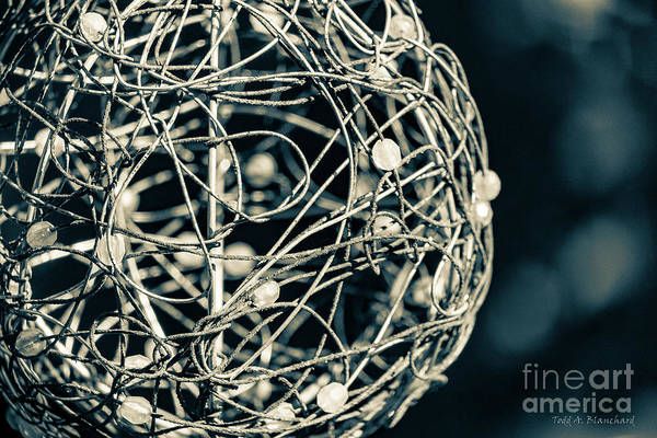 Photograph - Abstract Sphere by Todd Blanchard