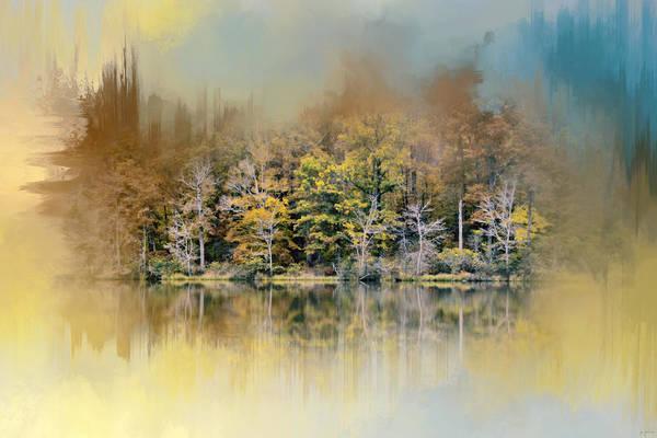 Photograph - Abstract Spring Lake by Jai Johnson