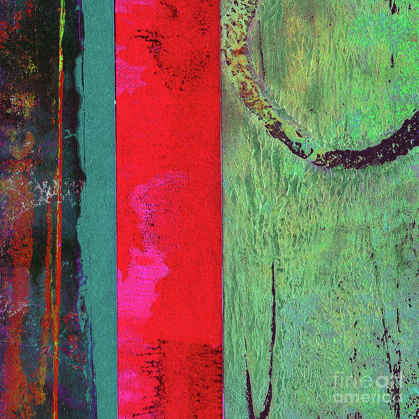 Mottled Mixed Media - Abstract Square 4 by Lauri Jean