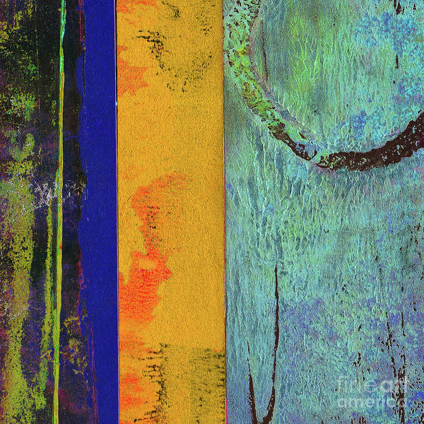 Mottled Mixed Media - Abstract Square 6 by Lauri Jean