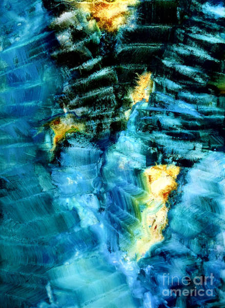 Wall Art - Painting - Abstract Stairs by Patricia Motley