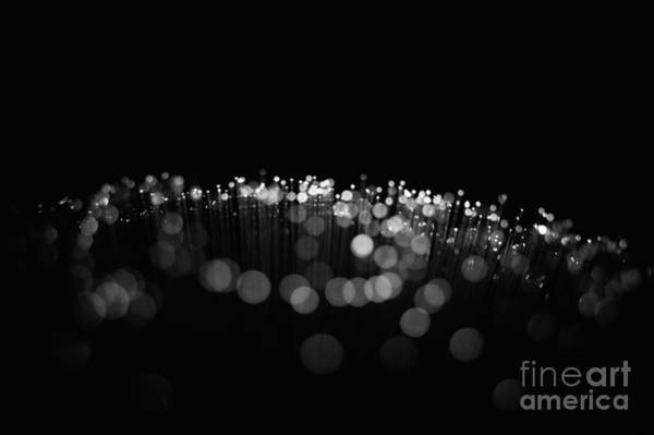 Photograph - Abstract Strands Of Light by Clayton Bastiani