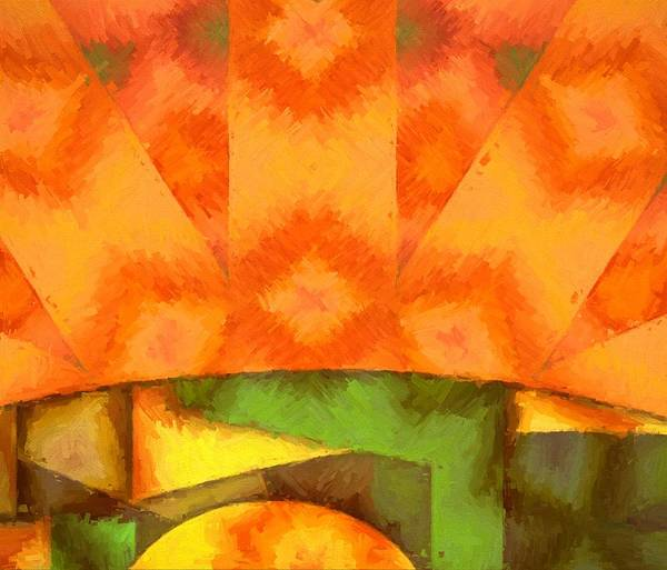 Endless Painting - Abstract Sunrise by Dan Sproul