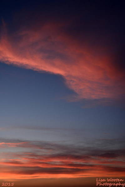 Photograph - Abstract Sunrise by Lisa Wooten
