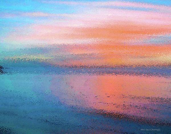 Photograph - Abstract Sunset by Coleman Mattingly