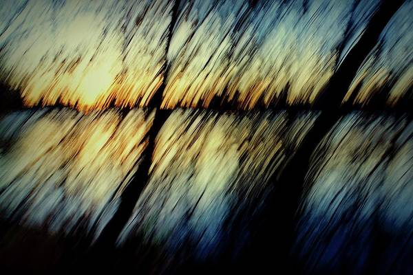 Photograph - Abstract Sunset by Patricia Strand